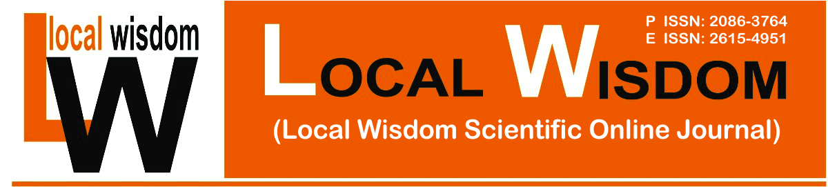 LOCAL WISDOM SCIENTIFIC ONLINE JOURNAL