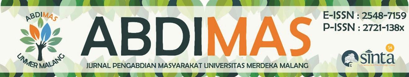 ABDIMAS: Jurnal Pengabdian Masyarakat Universitas Merdeka Malang